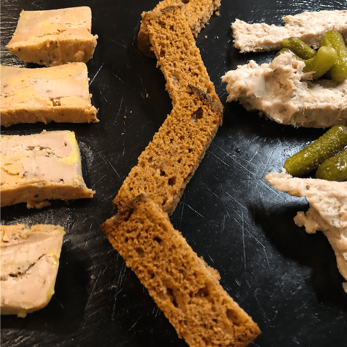 Copitas Bar Tablas - Tabla Foie Rillettes